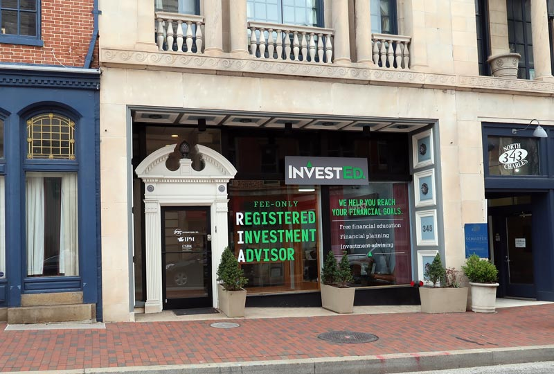 InvestEd Office at 345 N Charles Street Baltimore